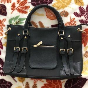 MK🖤Black and Gold Tote Bag